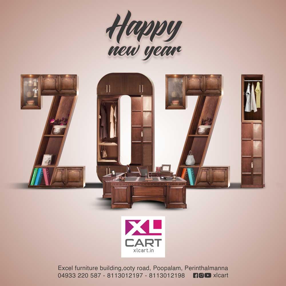 New Year 2021 XL Cart