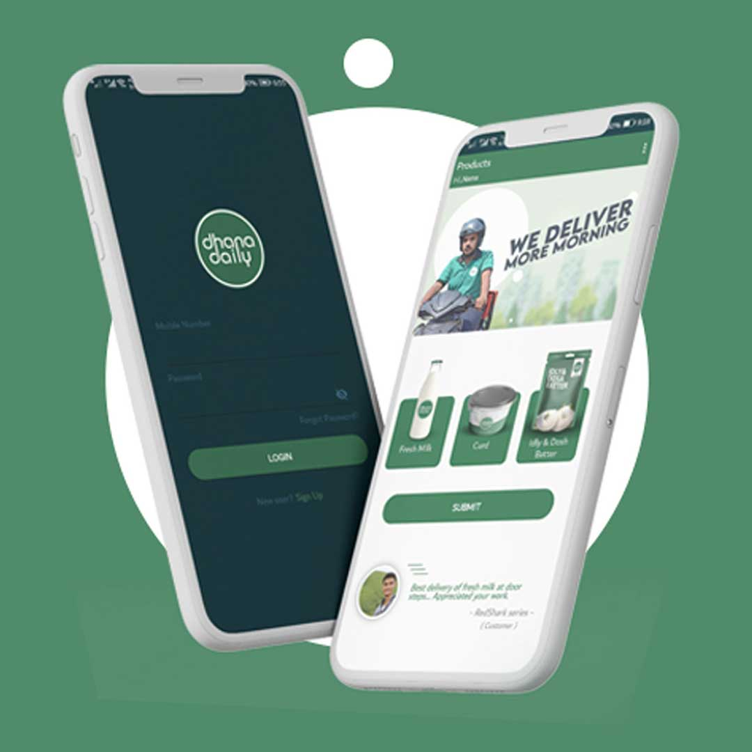 Mobile App Dhana Daily