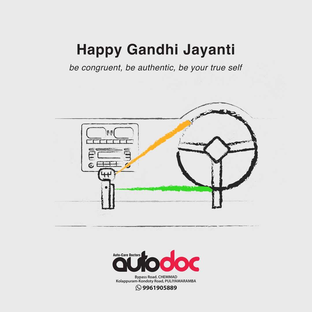 Gandhi jayanti Autodoc